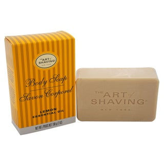 The Art of Shaving Men's 7-ounce Body Soap Lemon