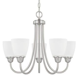 Capital Lighting Trenton Collection 5-light Brushed Nickel Chandelier