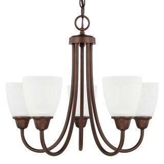 Capital Lighting Trenton Collection 5-light Bronze Chandelier