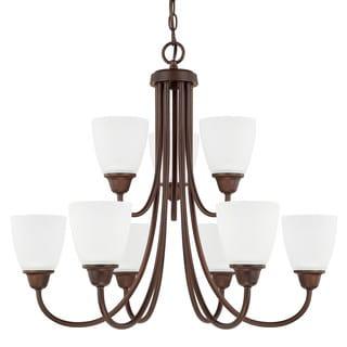 Capital Lighting Trenton Collection 9-light Bronze Chandelier