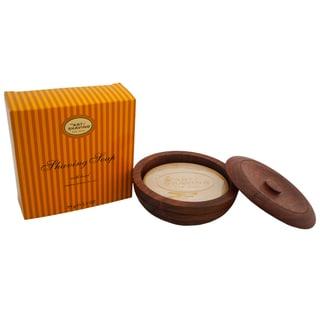 The Art of Shaving Men's 3.3-ounce Shaving Soap with Wooden Bowl Lemon