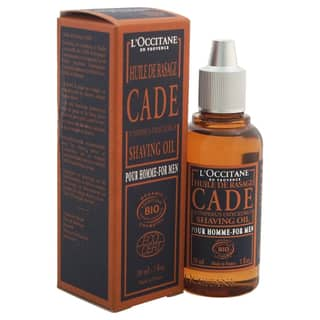 L'Occitane Men's 1-ounce Cade Shaving Oil|https://ak1.ostkcdn.com/images/products/13024951/P19766683.jpg?impolicy=medium