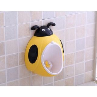 Ladybug Yellow Plastic Potty Training Urinal
