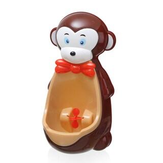 Brown Plastic Monkey Potty Training Urinal
