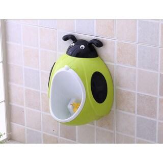 Green Ladybug Plastic Potty Training Urinal