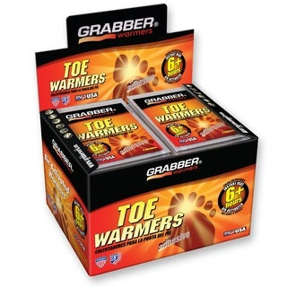 Grabber 6-hour Toe Warmers (Case of 40)