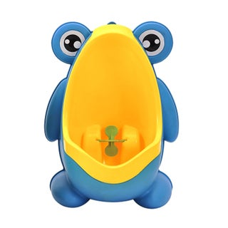 Blue Plastic Frog Potty-training Urinal
