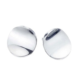 Sterling Silver Large Stud Earrings by Ever One
