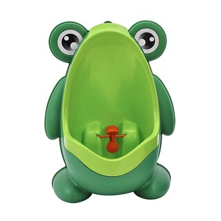 BH Baby Green Plastic Frog Potty Training Urinal