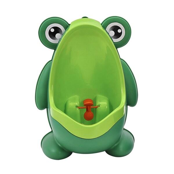 BH Baby Green Plastic Frog Potty Training Urinal