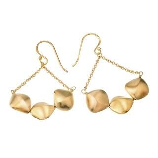 18k Vermeil Pure Silver Chandelier Earrings by Ever One