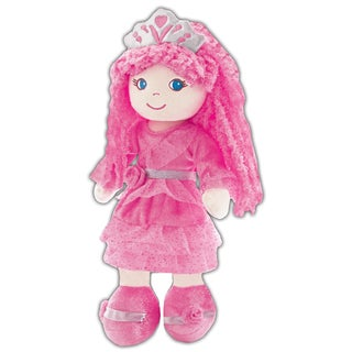 GirlznDollz Pink Fabric Leila Fairy Princess Doll