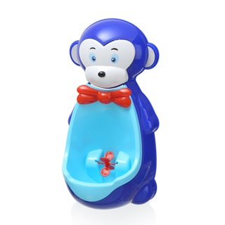 Dark Blue Plastic Monkey Potty-training Urinal