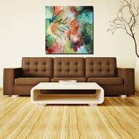 Ready2HangArt 'Painted Petals LIX' Canvas Art
