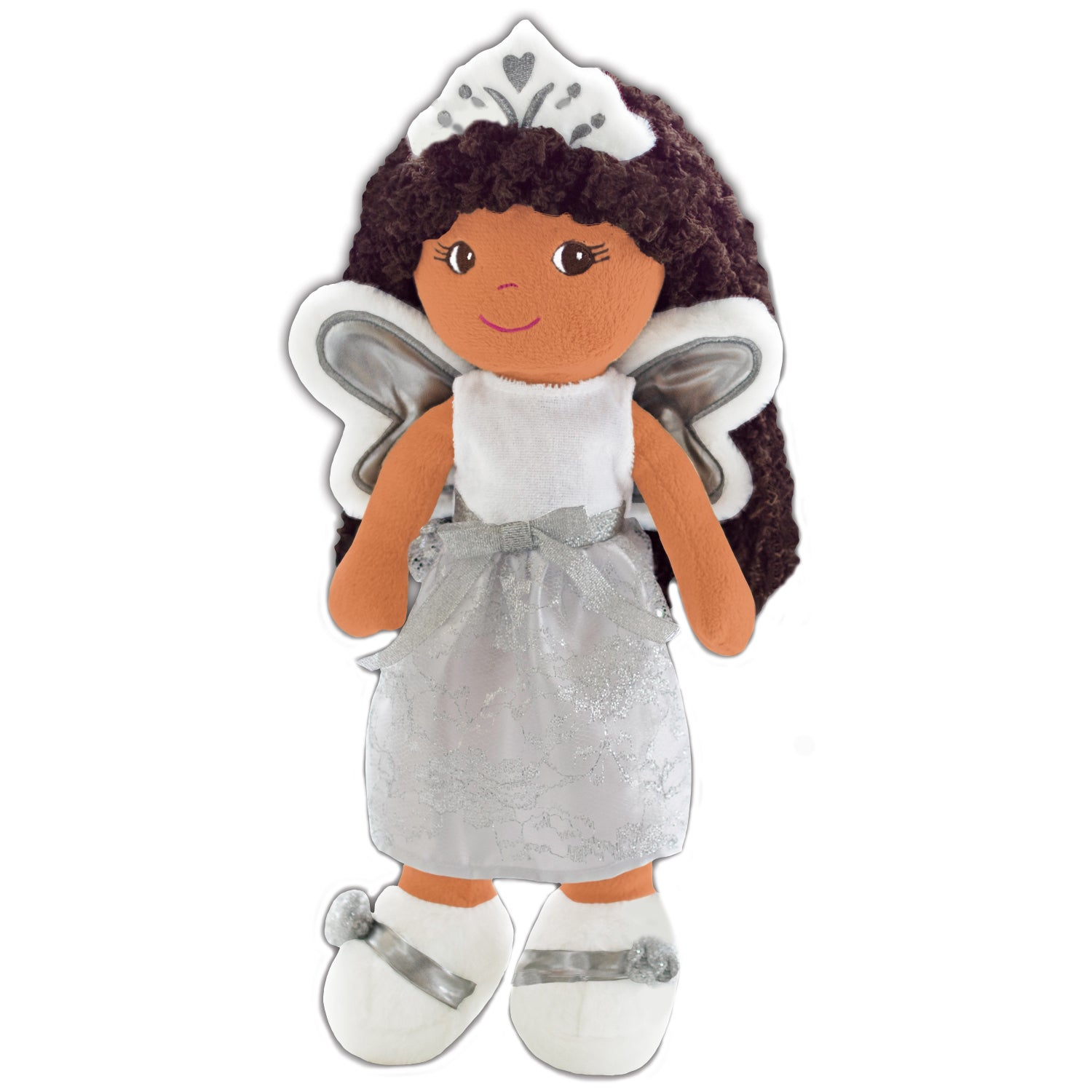 "GirlznDollz Elana Angel Baby Doll (14"", white, silver), B..."