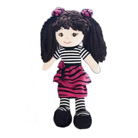 Jessica Dress-up plush baby doll