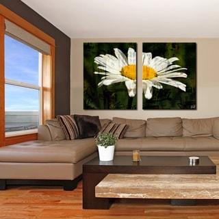 Ready2HangArt 'Painted Petals XCIX' 2 Piece Canvas Art Set