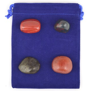 Healing Stones for You Vitality Boost Intention Stone Set