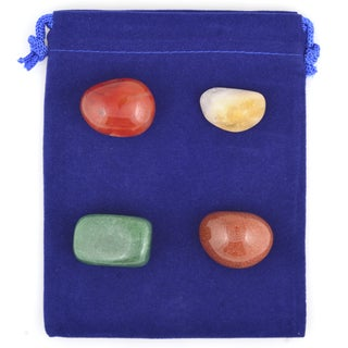 Healing Stones for You Attract Abundance Intention Stone Set