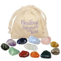 Healing Stones for You 12 Stone Essential Chakra Set