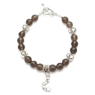 Healing Stones for You Smoky Quartz Celestial Bracelet