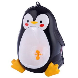 Black Penguin Potty Training Urinal