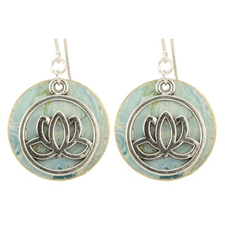 Padmasana Lotus Earrings