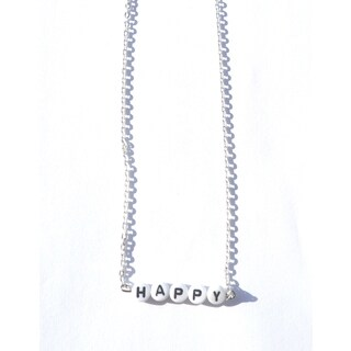 Be The Envy Happy Beaded Necklace