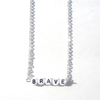 Be The Envy Brave Beaded Necklace