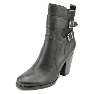 Frye Women's 'Patty Gore Bootie' Black Leather Boots