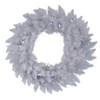 "36"" Sparkle White Spruce Artificial Christmas Wreath - Unlit"