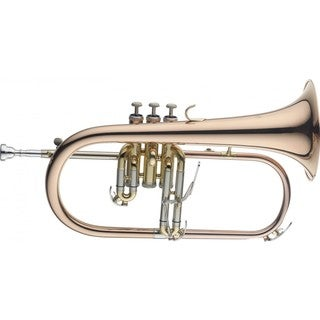 Levante LV-FH6205 Professional Bb Flugelhorn with Soft Case Included