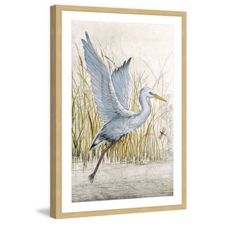 Marmont Hill - 'Heron Sanctuary I' Framed Painting Print