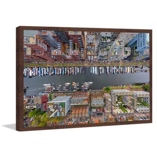 Marmont Hill - 'Amsterdam' Framed Painting Print