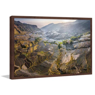 Marmont Hill - 'Yuanyang' Framed Painting Print