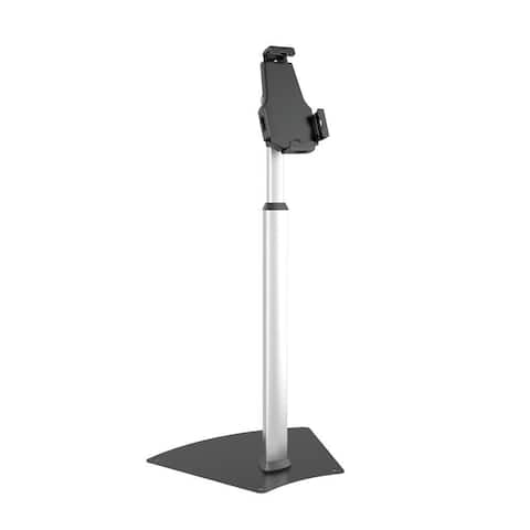 Pyle PSPADLK60 Universal Tamper-Proof Anti-Theft iPad/Tablet Kiosk Floor Stand Mount Holder