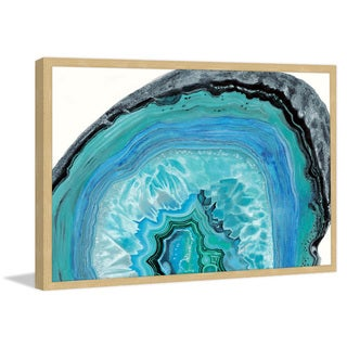Marmont Hill - 'Agate Studies II' Framed Painting Print