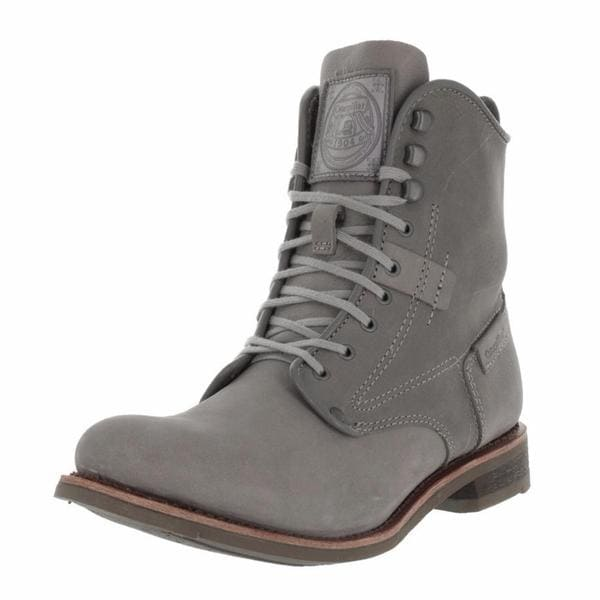 2182ea7186745 Shop Cat By Caterpillar Men s Orson Grey Leather Boots - Free ...