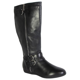 Me Too Womens Freja Tall Leather Riding Boots