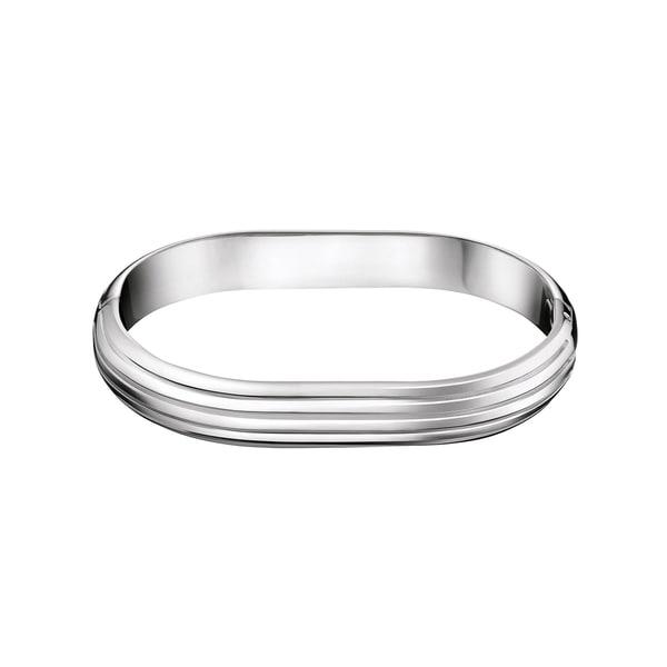 Calvin Klein Women's Fractal Stainless Steel Fashion Bracelet