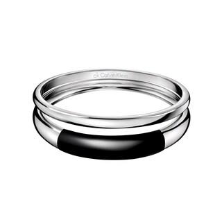 Calvin Klein Women's Ellipse Stainless Steel Fashion Bracelet