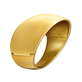 Calvin Klein Billow Stainless Steel Yellow Gold PVD Coated Women's Fashion Bracelet
