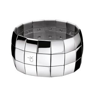 Calvin Klein Women's Disco Stainless Steel Fashion Bracelet