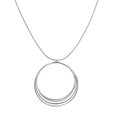 Calvin Klein Women's Fly Stainless Steel Snake Chain Fashion Necklace