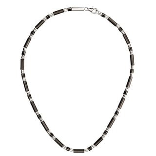 Calvin Klein Women's Sand Sterling Silver Bead Chain Fashion Necklace