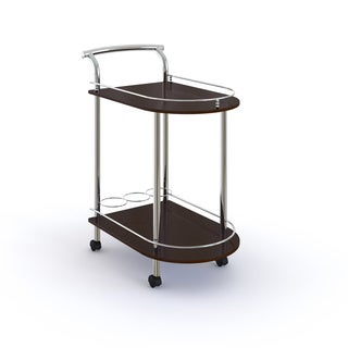 LYKE Home Sleek Modern Wine Cart