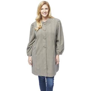 Women's Plus-size Tartan Plaid Topper|https://ak1.ostkcdn.com/images/products/13027050/P19768523.jpg?impolicy=medium
