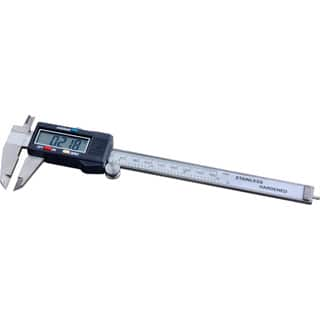 Steel Core Stainless-steel 6-inch Electronic Digital LCD Display Caliper|https://ak1.ostkcdn.com/images/products/13027061/P19768540.jpg?impolicy=medium