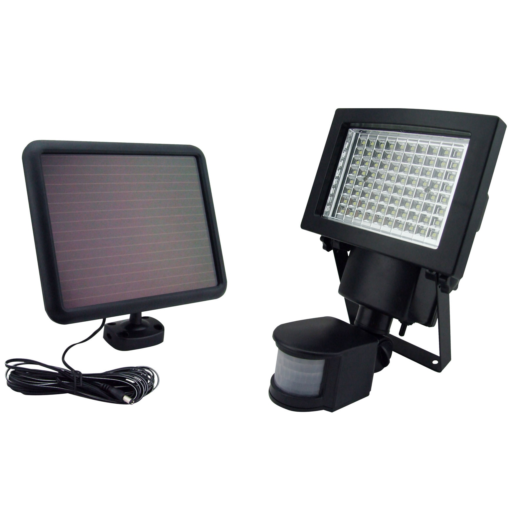 Sontax Outdoor Solar Powered 80 LED Motion Light Security...