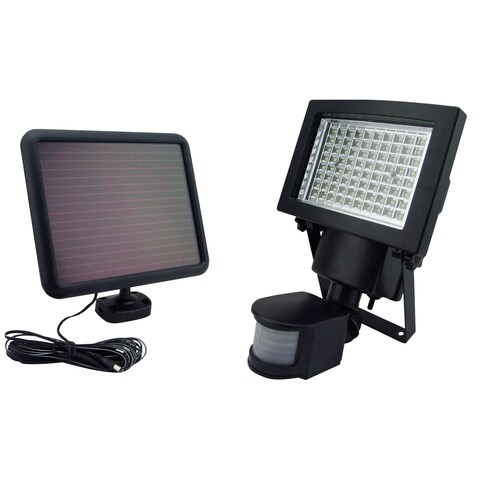 Sontax Outdoor Solar Powered 80 LED Motion Light Security Flood Lamp
